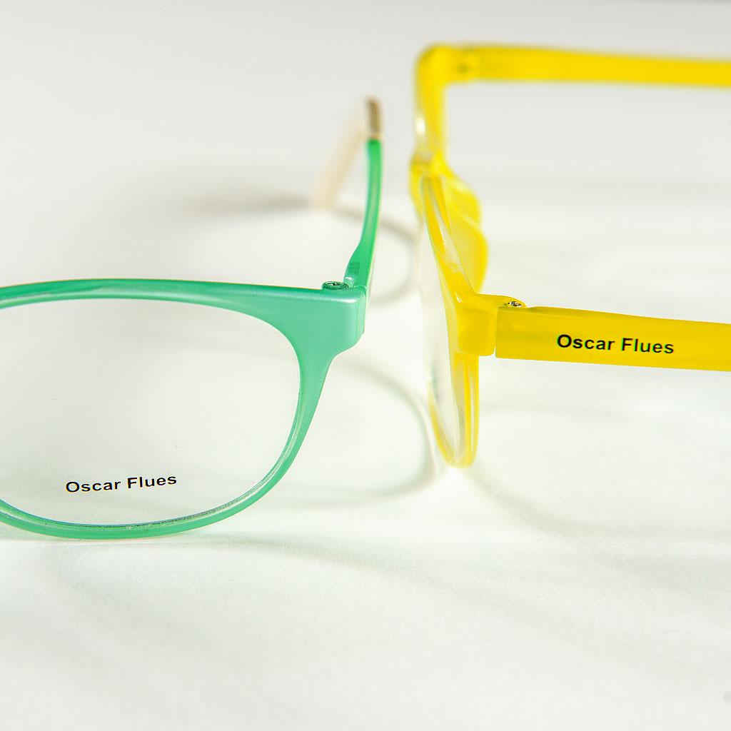 Personalização de óculos com tampografia